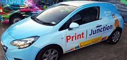Print Junction vinyl van wrapping vehicle graphics Maidstone