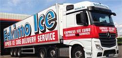 Eskimo Ice fleet Custom lorry graphics wrap
