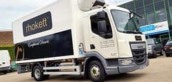 Rhokett van wrapping vehicle graphics