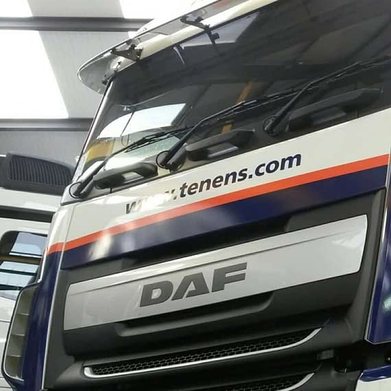 tennens Vehicle Graphics Wrap