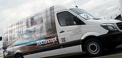 Bo Concept, fleet vehicle wrap, graphics