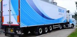 Kinship fleet vehicle wrap, graphics