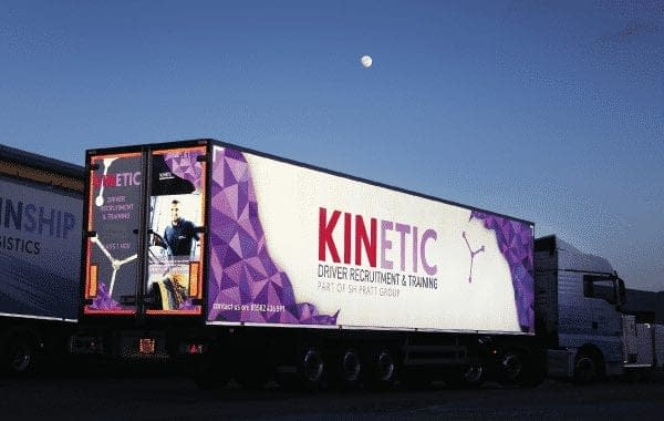 Kinship reflective vehicle wrap