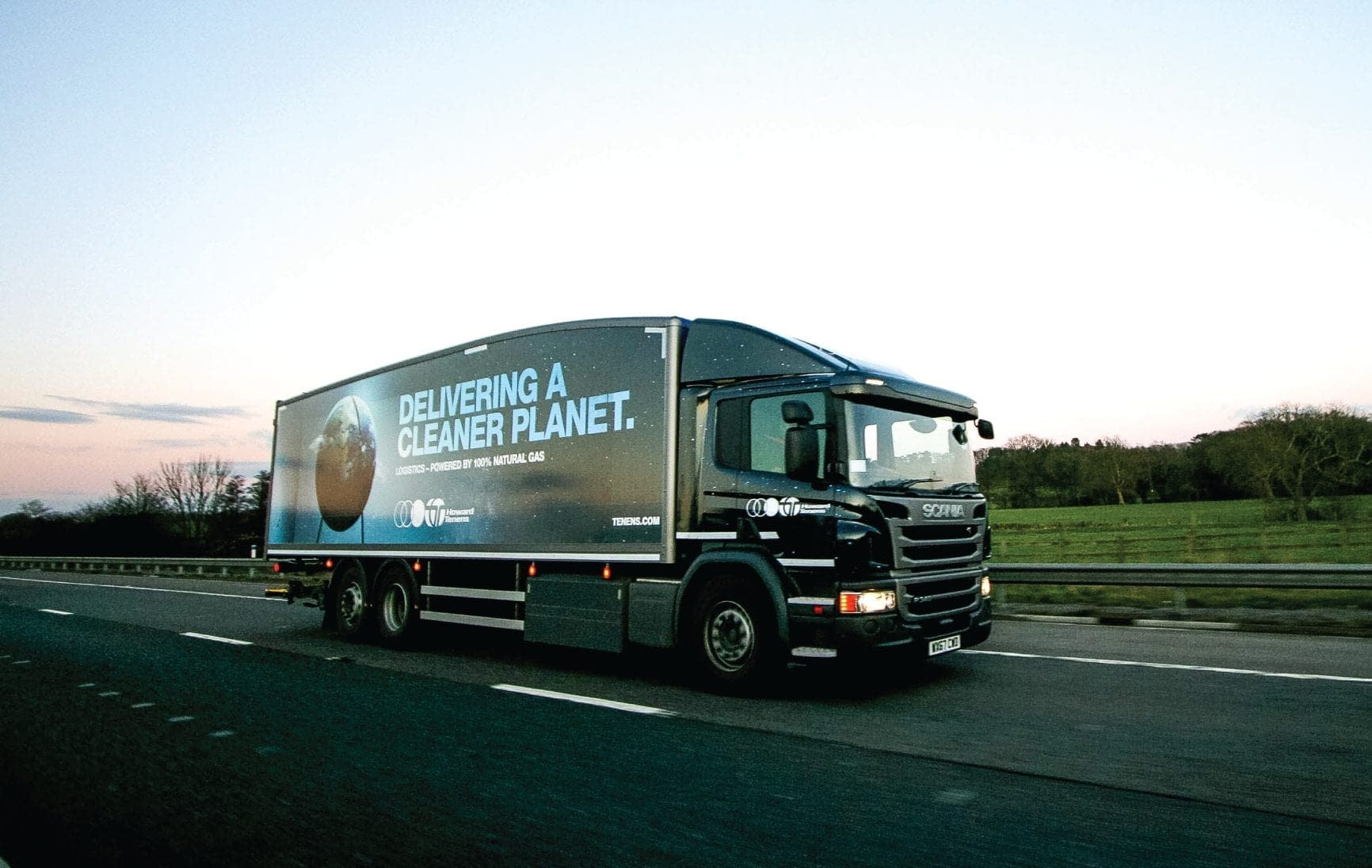 Howard Tenens Award Winning cleaner planet livery