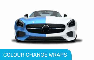 Mercedes Colour change wrap