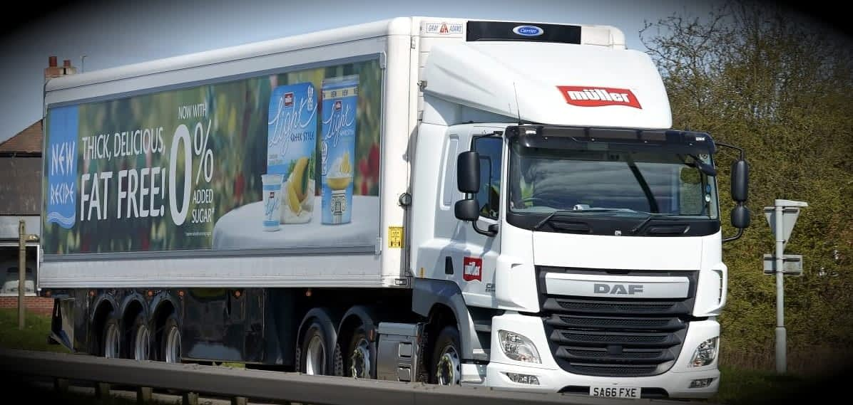 Muller truck with Traxx® framing system