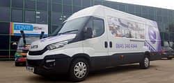 Eden Projects Custom van Wrap