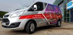 Virtus 2 van wrapping vehicle graphics