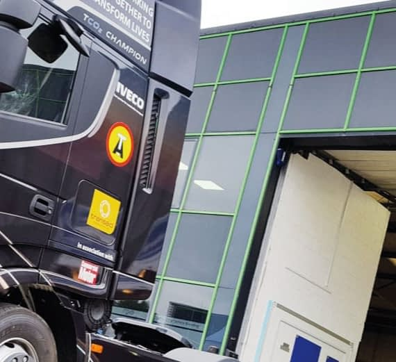 Truck Wraps for Iveco