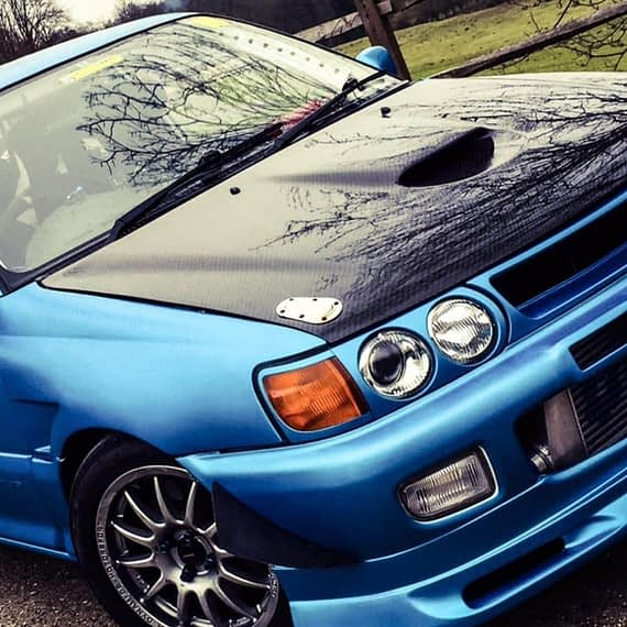 Blue Vehicle wrap