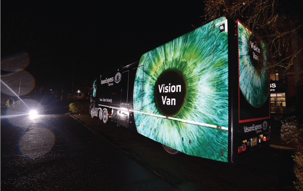 Vision Van Wrapping