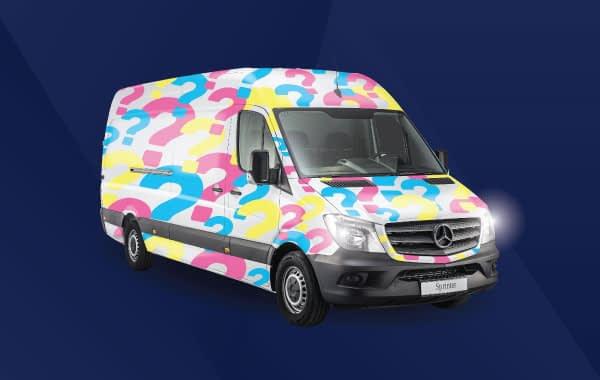 full cab or van wrap services