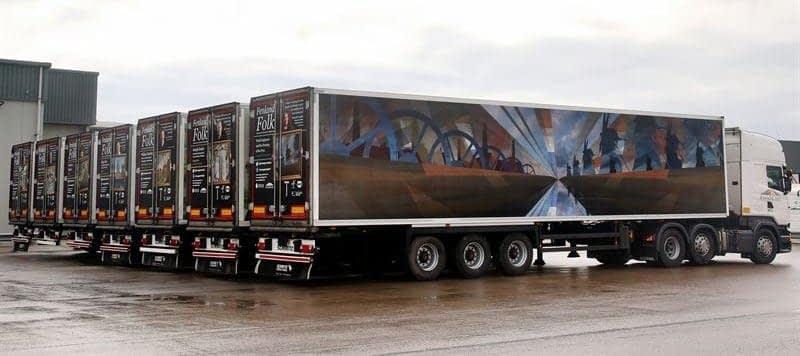 Freshlinc fleet wraps