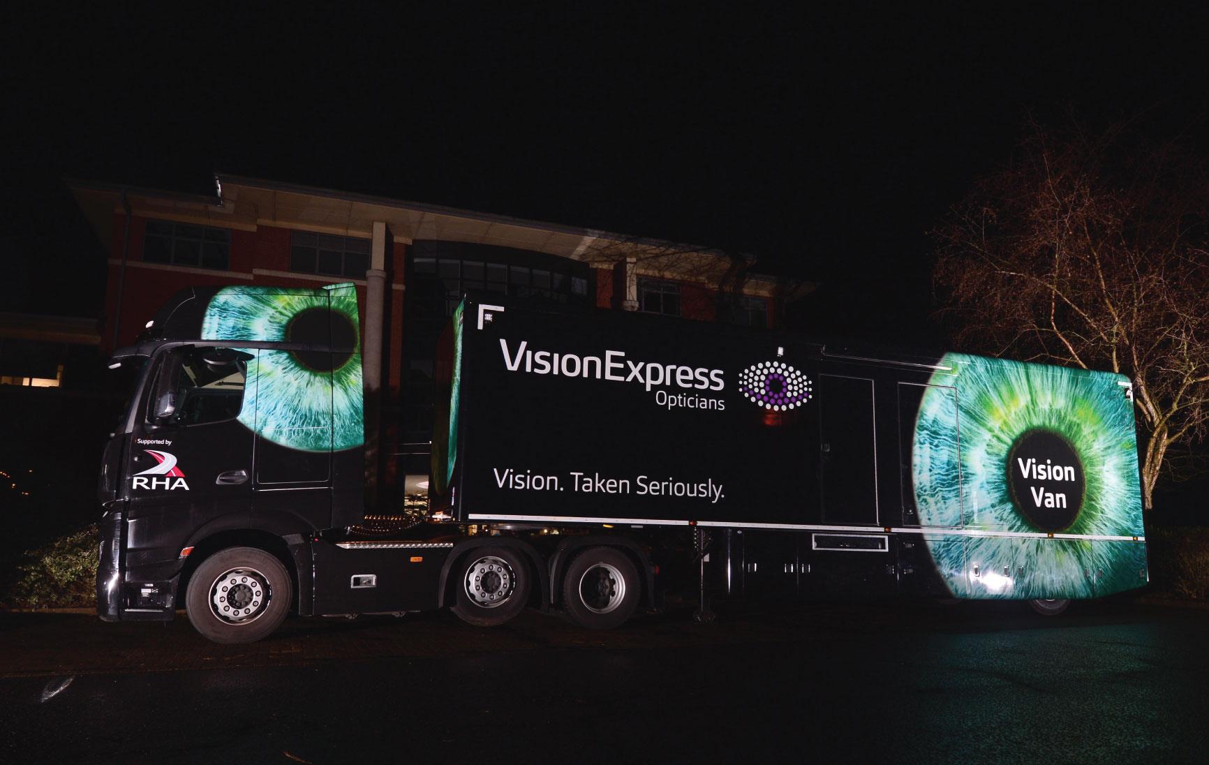 Vision Express Vision Van