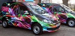 Kent based vehicle wrapping and van graphics specialist