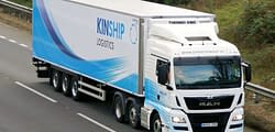 Kinship 4, fleet vehicle wrap, graphics