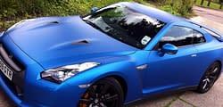 Nissan colour change wrap