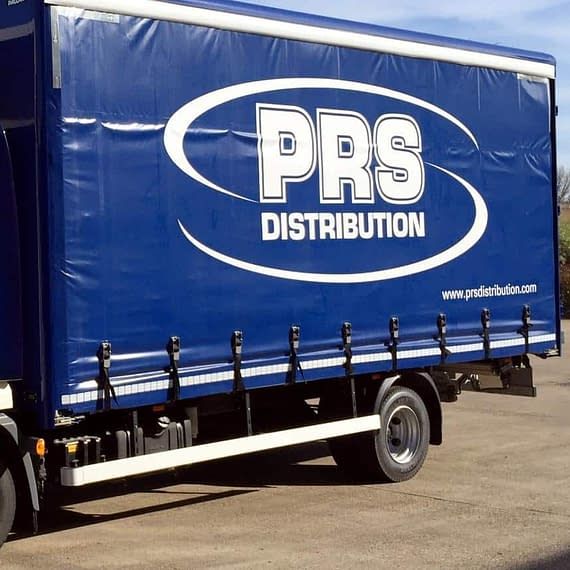 PRS vinyl van wrapping vehicle graphics