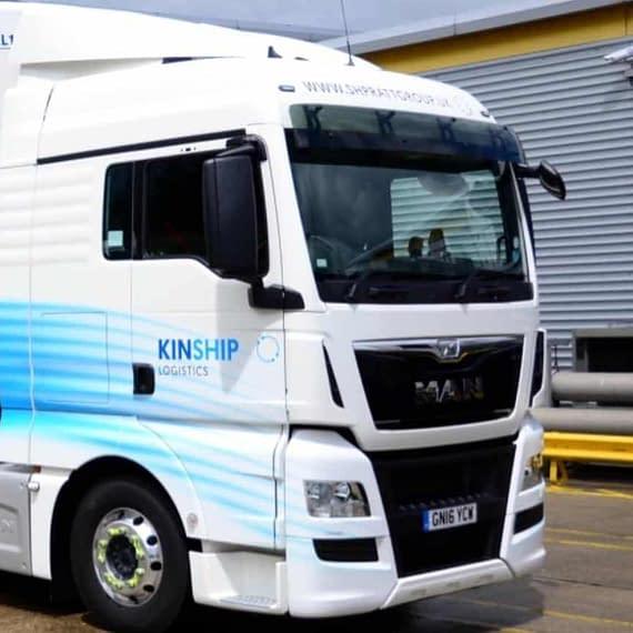Kinship 3, fleet vehicle wrap, graphics