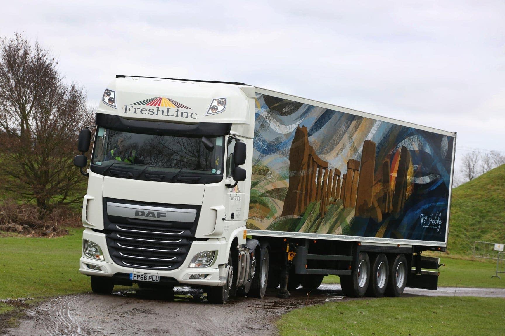Freshlinc truck wrap