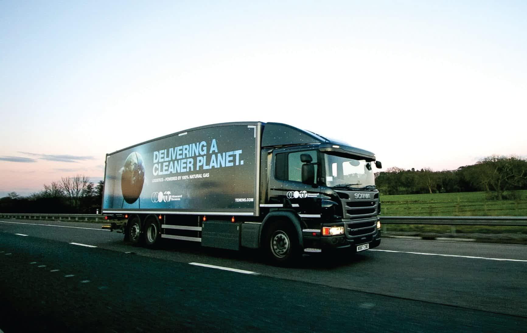 Howard Tenens Award Winning cleaner planet livery