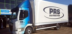 PRS van wrapping vehicle graphics