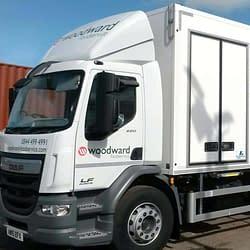 Woodwards Foodservice Fleet Vehicle Graphics Wrap
