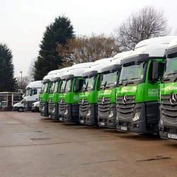 Corporate Solutions Logistics Fleet Vehicle Graphics Wrap