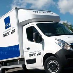 Furniture Hire, fleet vehicle wrap, graphics
