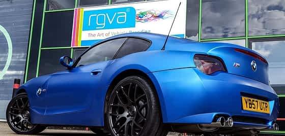 BMW M3 colour change wrap