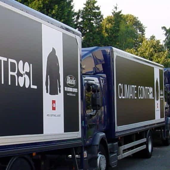 Blacks, fleet vehicle wrap, graphics