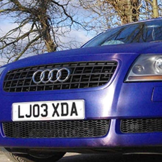 Audi TT Vehicle wrap colour change