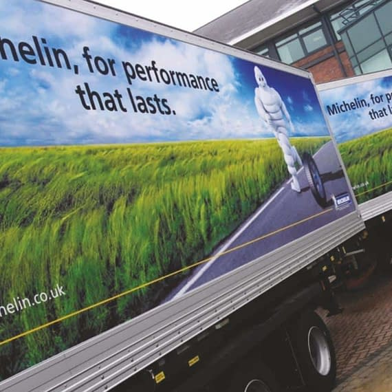 Michelin Vehicle Graphics Wrap