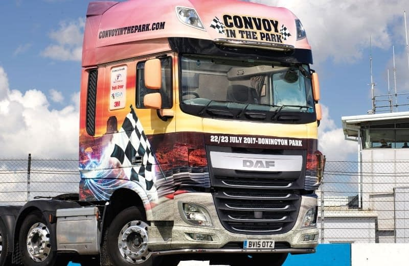 Truck Wrap for Convey-in-the-park
