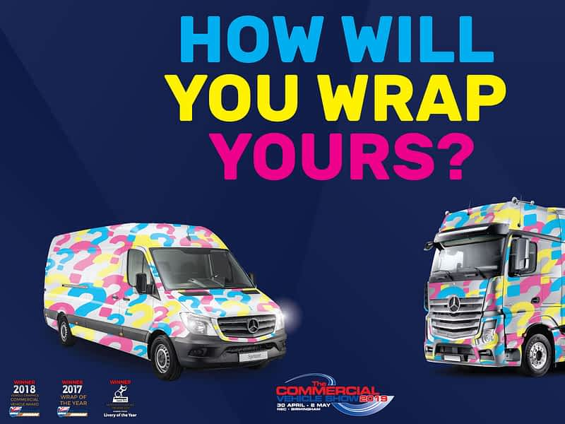 Fully wrapped sprinter and actros